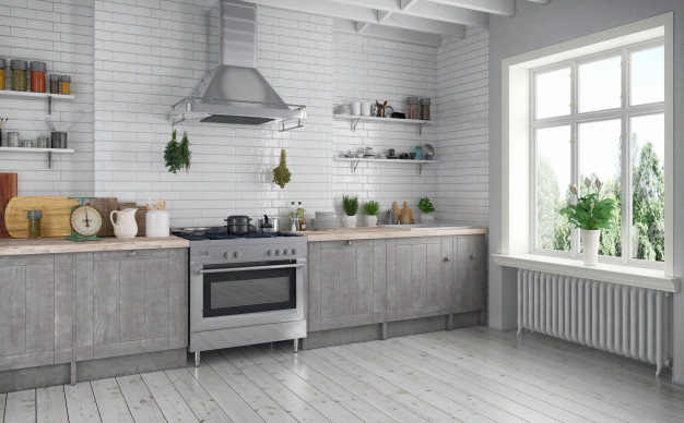 Comfortable kitchen for the whole family – how to arrange it?